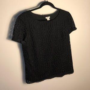 JCrew Lace Blouse- worn once!